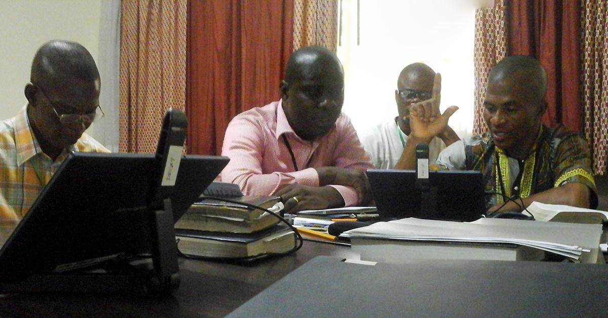 Daddy Botutu and National Bible Translators