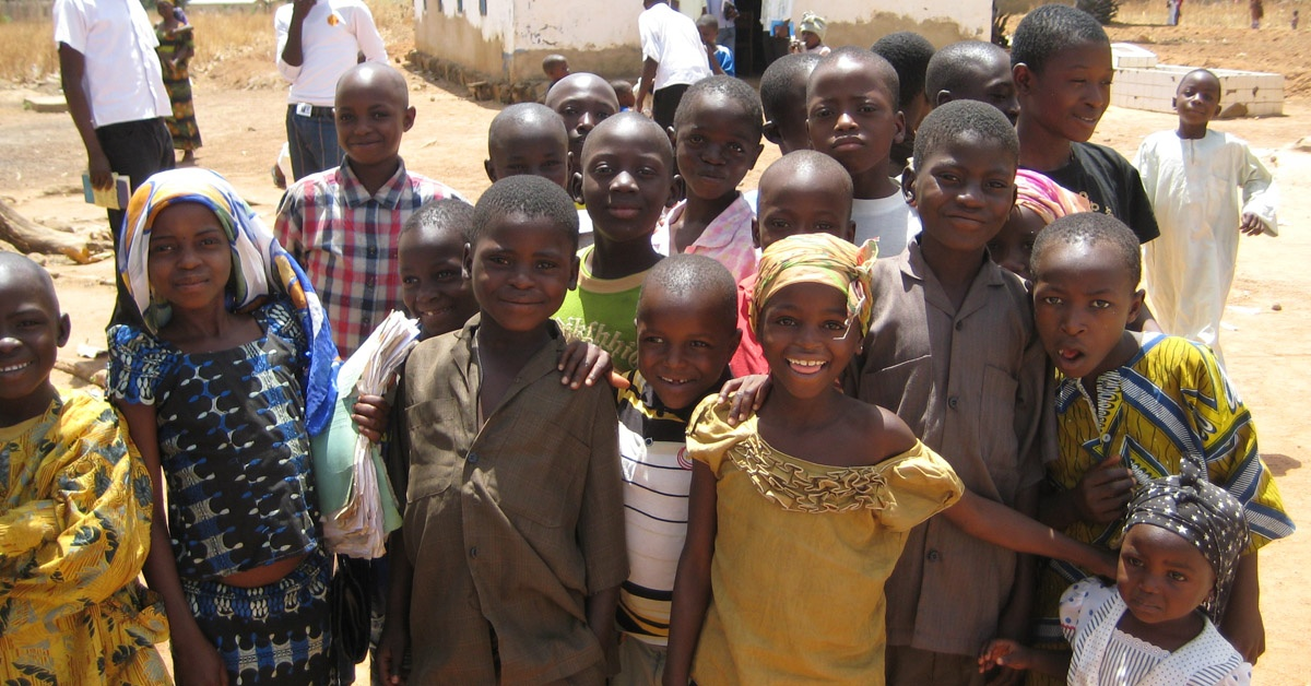 Kids in Nigeria
