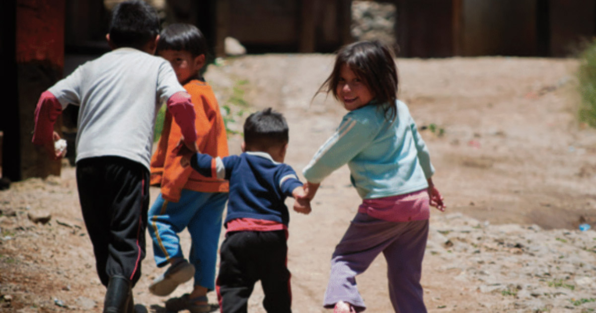 Children in Mexico, where many indigenous languages still do not have the Bible