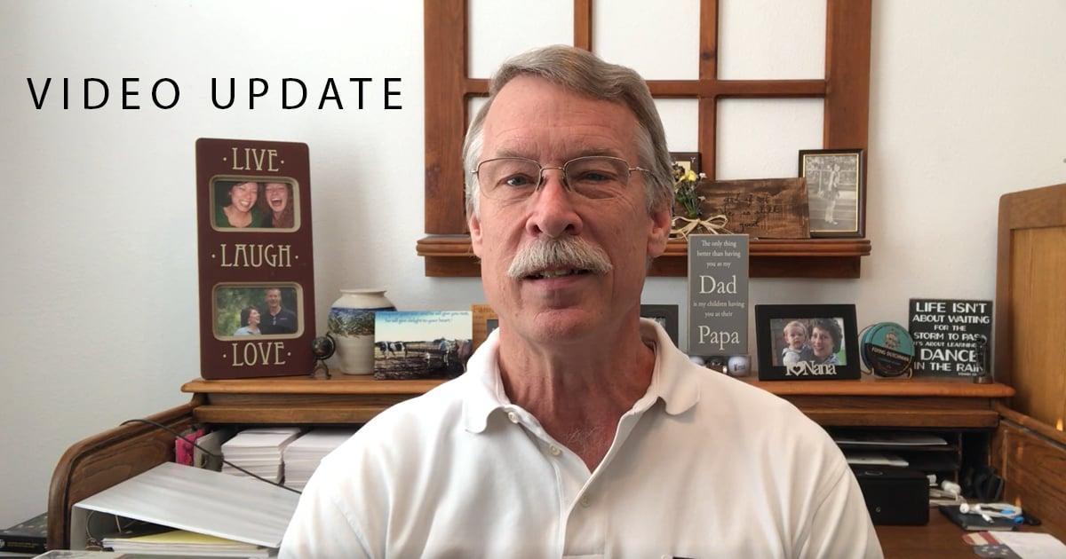 Bruce Video Update April 6