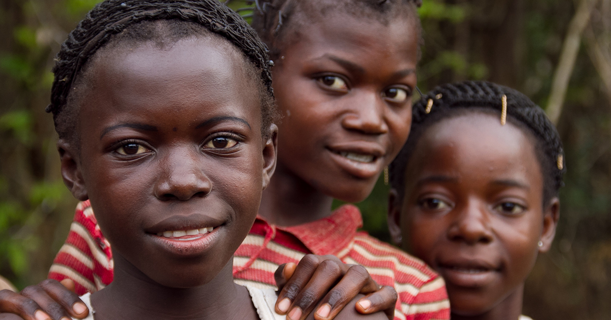 Girls in the DRC