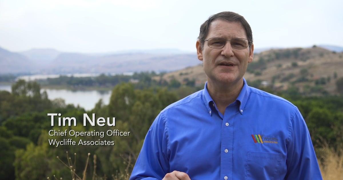 Dr Tim Neu in Israel